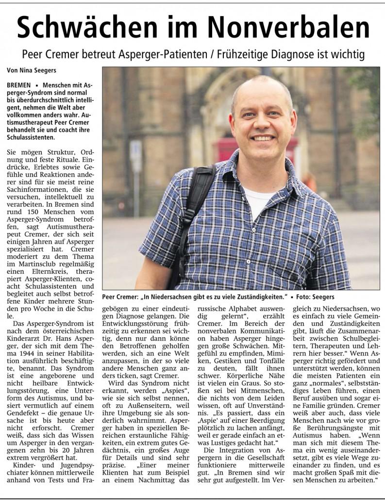 Aspergersyndrom-Experte-Bremen