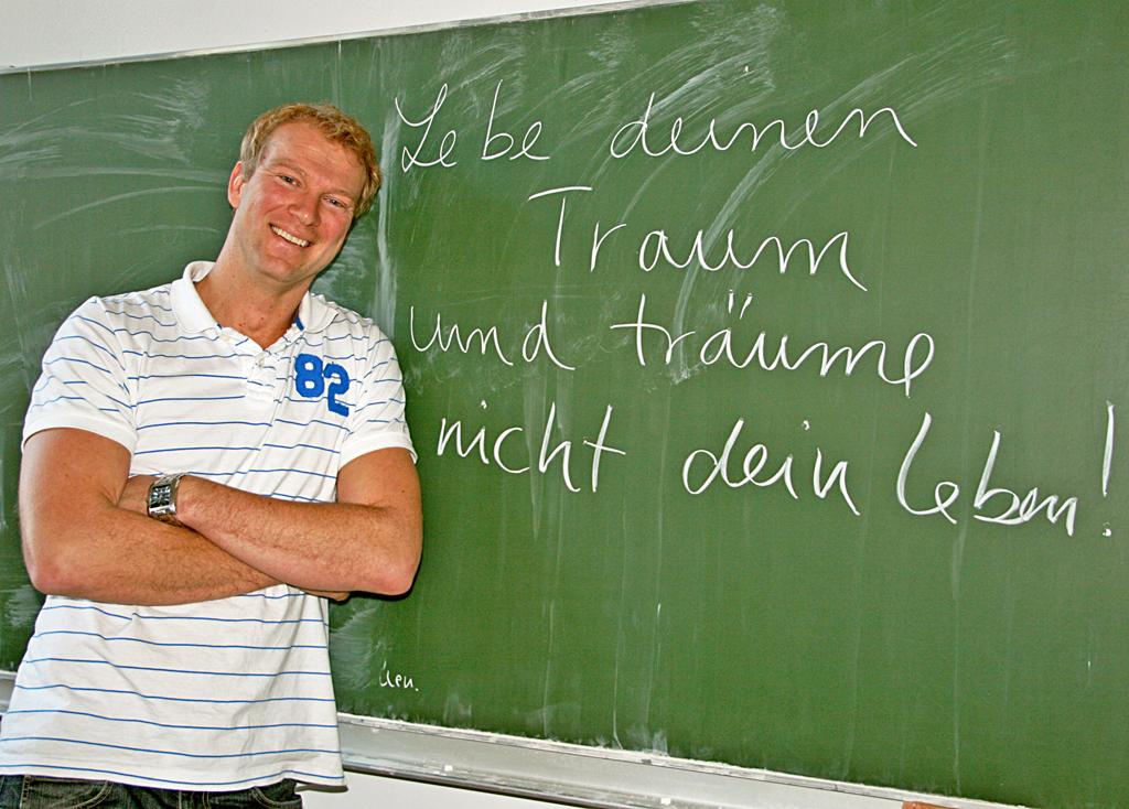 Michael Jentzsch ist ein Lehrer mit großen Visionen